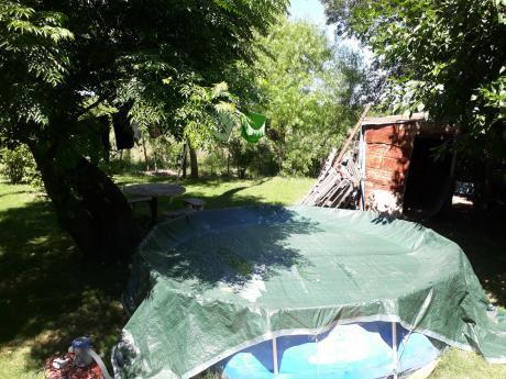 Riachuelo:casa De Tres Dormitorios, Cocina.comedor Living Con Estufa  Integrados