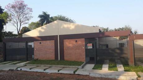 Vendo Casas A Estrenar En Lambaré, Barrio San Roque