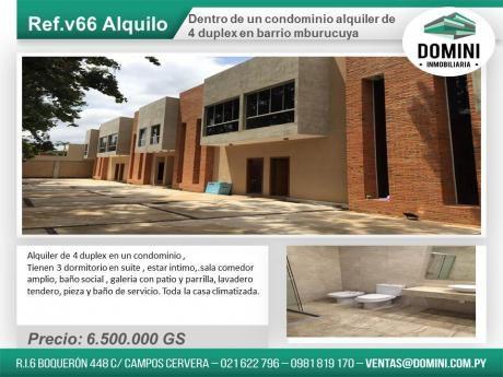 Alquiler De Duplex En Condominio