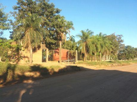 Terreno Con Infraestructura En Cotoca Camino A Paurito