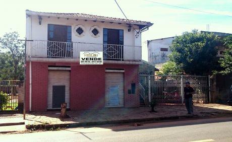 Vendo V-018 Casa/salón Comercial - Mariano Roque Alonso
