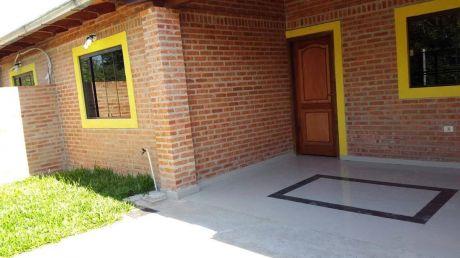 Se Alquila 1 Casa Tipo Chalet Nuevo Ciudad San Antonio A Pasos Del Club Ytororo