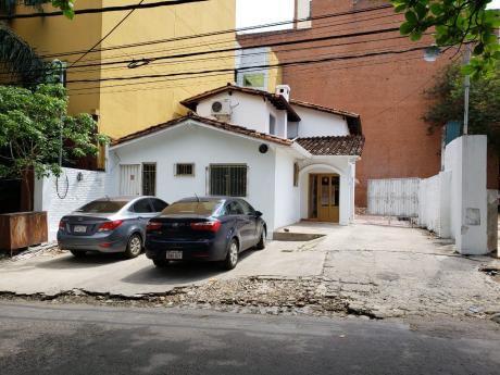 Alquilo Casa Para Oficina O Comercio En Villa Morra