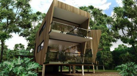 Casa Campestre Urubo En Condominio Privado