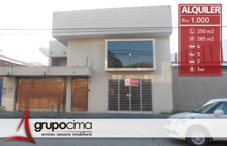 Amplia Casa En Alquiler A Solo 1.000 $us