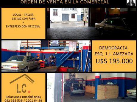 Taller - Local Comercial C/foso