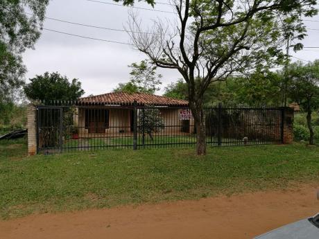 Vendo Casa De 3 Dormitorios En Loma Merlo A Minutos Del Centro De Luque
