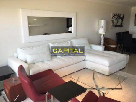 Excelente Apartamento En Torre De Categoría, Imperiale, Playa Brava Parada 1