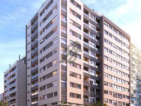 Divino Apartamento De Un Dormitorio, Con Terraza De 20 Metros A Estrenar