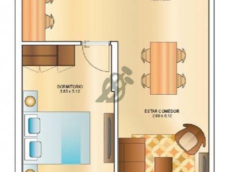 Un Dormitorio Al Frente, Terminaciones Unicas, Entrega 2019, Solicite Carpeta De Apartamentos.