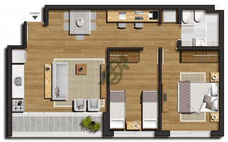 Apartamentos A Estrenar En Venta Sobre L.a. De Herrera
