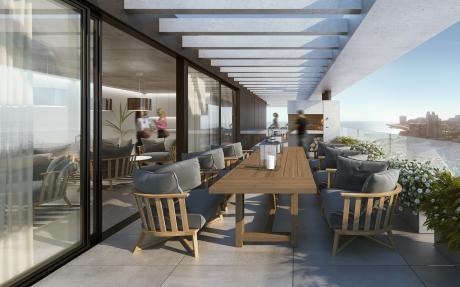 Excelente Apartamento Con Vista Al Mar 2 Amb