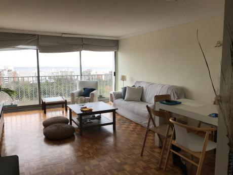Venta Apto 2 Dorm Y Servicio, Garage, Villa Biarritz