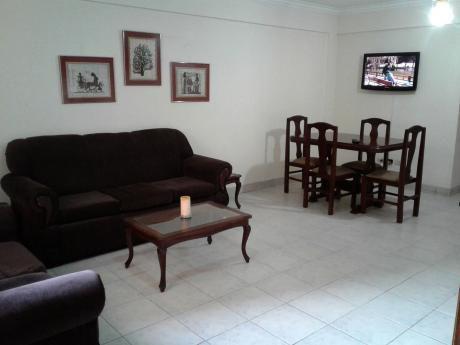 Departamento Amoblado De 1 Dormitorio En Condominio San Simón