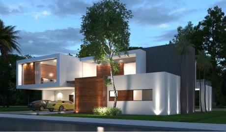 Lujosa Casa En Colinas Del Urubo S1!!!