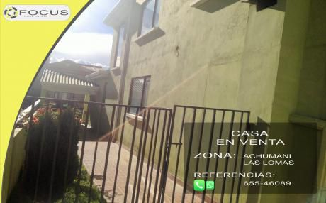Casa En Venta Las Lomas De Achumani