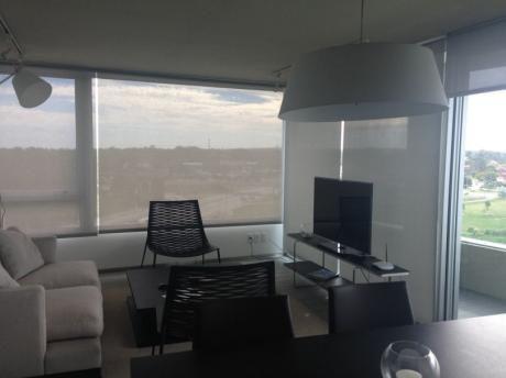 Apartamento Moderno Equipado Con Vista Espectacular !!!