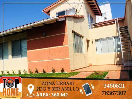 Alquiler Impecable Casa En Urbari