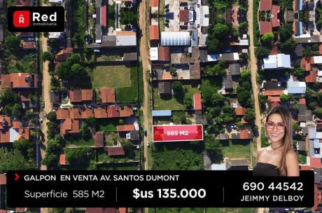 Galpon En Venta, Av. Santos Dumont 7mo Anillo