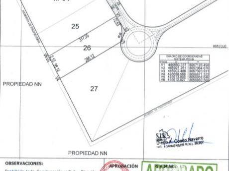 Terreno 31.100m2 Parque Industrial Latinoamericano