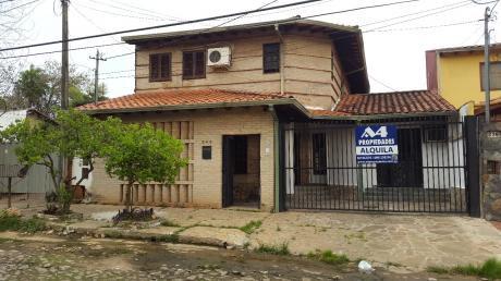 Alquilo Casa En Lambare Zona Supermercado Metro