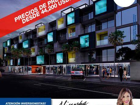 Apartamento Monoambiente Con Vestidor En Pre-venta En  Equipetrol!