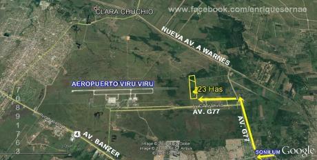 Venta Propiedad 23.6 Has. - Junto Al Aeropuerto Viru Viru!