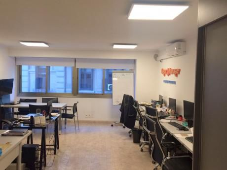 Excelente Oficina De 46m2 En Alquiler Con Garaje - Ciudad Vieja