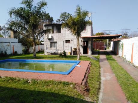 Vende Salinas Norte- Terreno Con Piscina Y Barbacoa