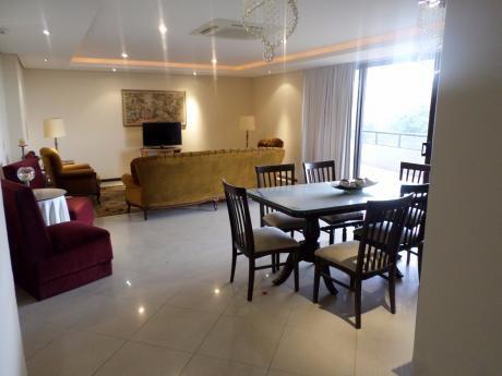 Alquilo Departamento Amoblado De Tres Dormitorios En Las Mercedes