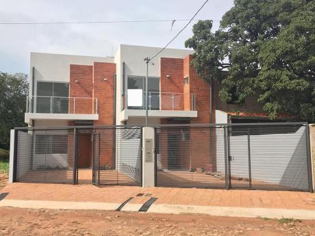 Vendo Duplex A Estrenar En Fernando De La Mora, Zona Norte (tte. Ettiene)