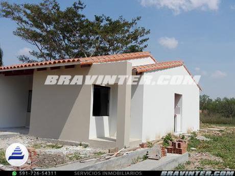 Casa En Venta A Estrenar 3 Hab, Urb. El Trapiche