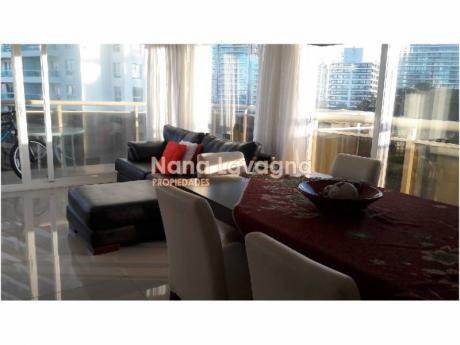 Apartamento En Mare Azurro,  En Venta, Brava, Punta Del Este, 3 Dormitorios. - Ref: 203791