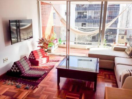 Apartamento Pta Carretas 2 Dorm / 2 Baños / Gc $3900 / Vista A Rambla