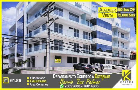 Departamento Equipado En Venta, Las Palmas