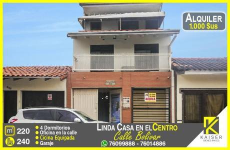 Linda Casa En El Centro De La Ciudad