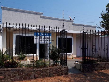 Casa En Alquiler En Fernando De La Mora –zona Sur