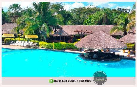 Terreno Dentro Hotel Río Selva Resort - Zona Norte Scz