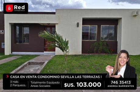Casa En Venta Cond: Sevilla  Las Terrazas 1