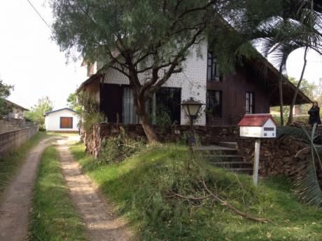 Id 10617 - Ideal 2 Familias-2casas: 3 Dorm. Y 2 Dorm. - 1.000 Solar 200 Edific.