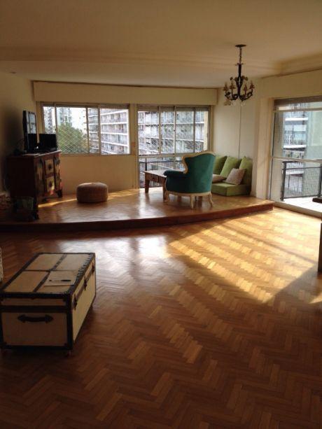 3 Dormitorios - Alquiler Apto. Pocitos 200 M2 Con Gje