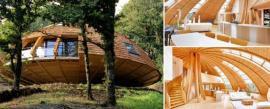 """La """"casa cúpula"""" sustentable que gira para aprovechar la luz solar"""