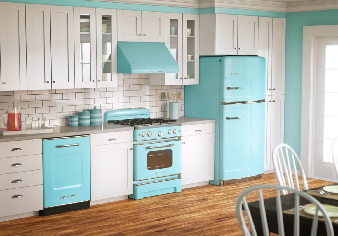 Dejáte llevar por la nostalgia del estilo vintage y decora tu cocina ...