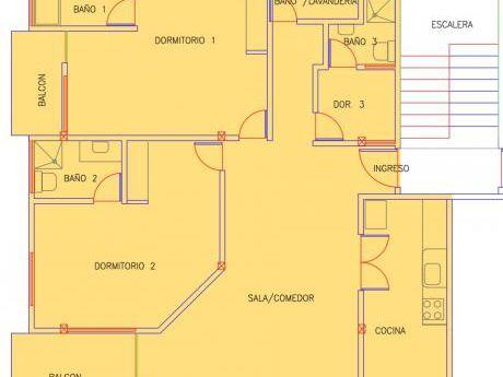 Alquiler Amplio Departamento 2d, 71439664, Av. Pirai