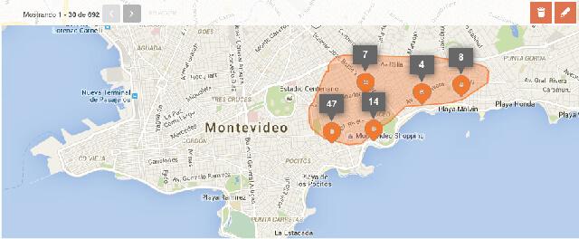 Dibuja en el mapa tu zona de interés y encuentra tu próximo hogar