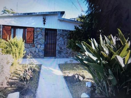 Solymar Norte:u$s 155.000 Casa Y Monoambiente