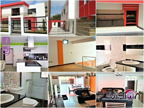 Hermosa Casa Minimalista A Estrenar En Venta!!!