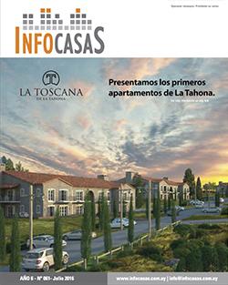 Revista Infocasas, Número 61, Julio / Agosto 2016