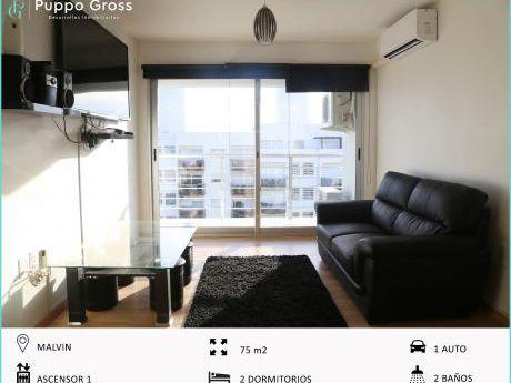 Vende Amplio Apto 2 Dormitorios, 2 Baños Y Garaje