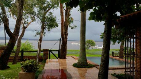 Alquilo Casa Frente Al Lago En San Bernardino!